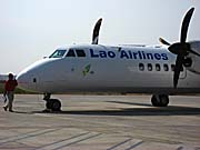 A Plane of Lao Airlines by Asienreisender