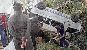 Traffic Accident in Thailand