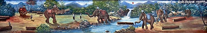 Asienreisender - Working Elephants in North Thailand