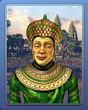 Suryavarman II, displayed in the Computer Game 'Civilization 4'
