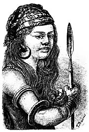 A Young Dayak by Wallace