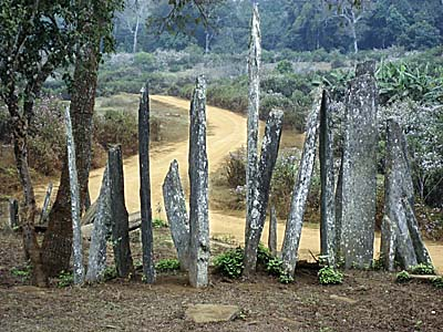 Menhirs of Hintang by Asienreisender