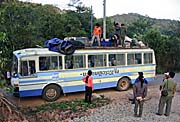 The Bus from Oudomxai to Phongsali by Asienreisender
