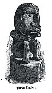 Papua Amulet by Wallace