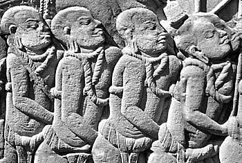 Relief with Slaves of Angkor