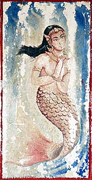 A Water Nymph Painting in Huayxai by Asienreisender