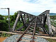 Railroad Bridge over the Teuk Chhou at Kampot by Asienreisender