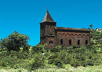 French Church on Bokor Hill Station by Asienreisender