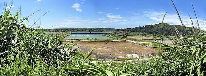 Shrimp Farms at Ranong Province, Thailand, by Asienreisender