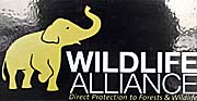 A Sticker of the 'Wildlife Alliance' by Asienreisender