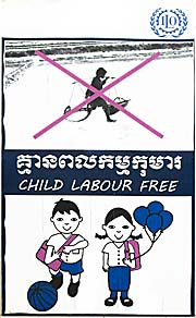 'No Child Labor' Sign by Asienreisender