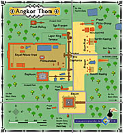 'Map of Angkor Thom' by Asienreisender