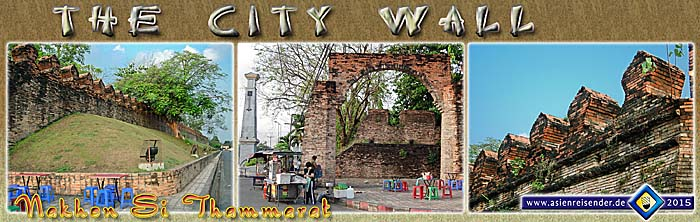 'The City Wall of Nakhon Si Thammarat' by Asienreisender
