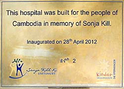 'Sonja Kill Hospital's Inauguration Plate' by Asienreisender