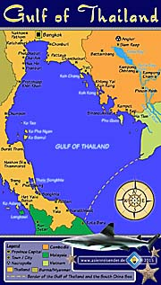 Thumbnail 'Interactive Map of the Gulf of Thailand' by Asienreisender