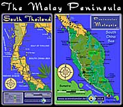 'Maps of the Malays Peninsula' by Asienreisender
