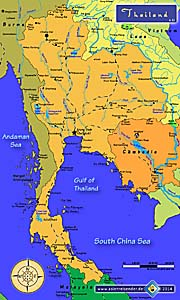 Thumbnail 'Map of Thailand' by Asienreisender