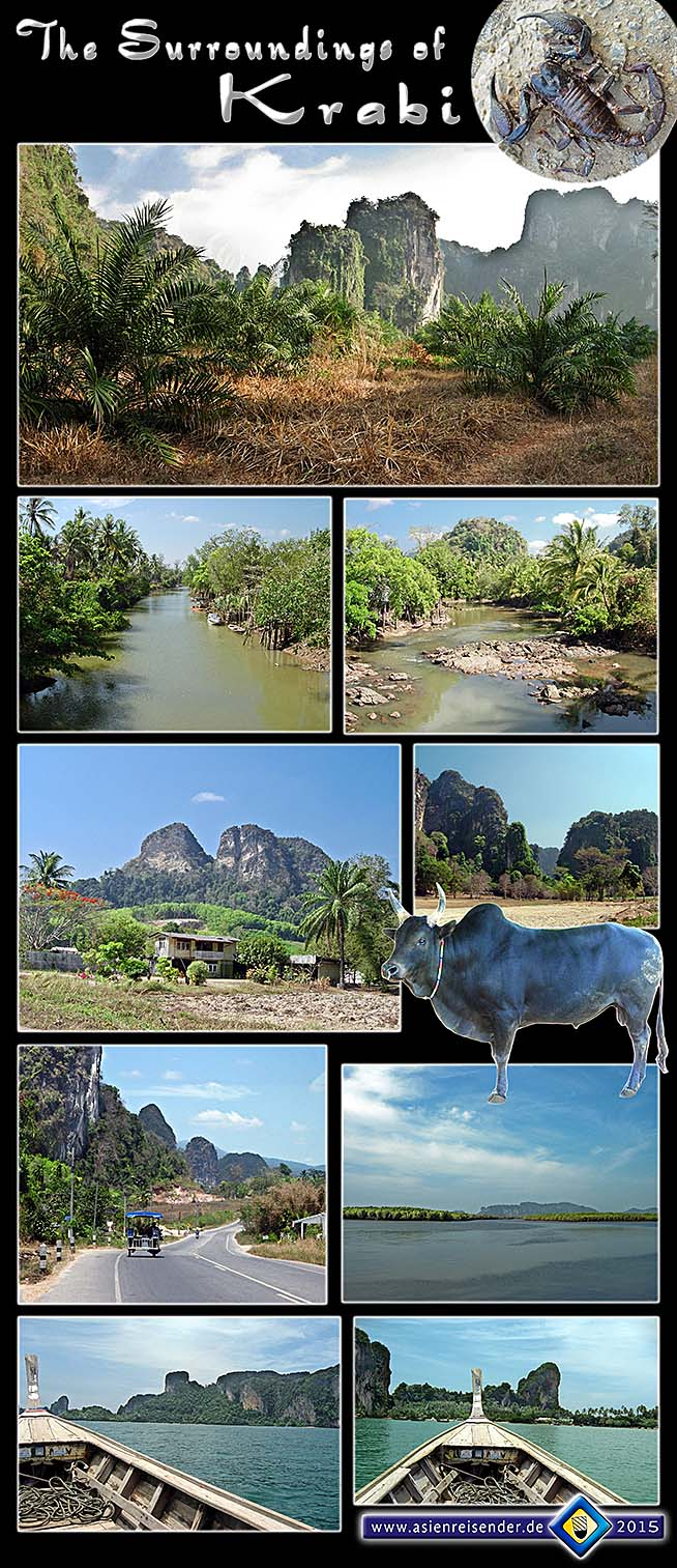 Photocomposition 'The Surroundings of Krabi' by Asienreisender