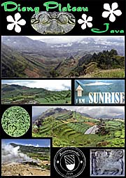 'Collage of the Dieng Plateay' by Asienreisender