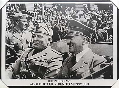 'Hitler and Mussollini for Sale in Yogyakarta' by Asienreisender