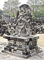 'One of the Stone Guards of Candi Sewu' by Asienreisender