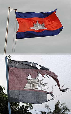 'The Cambodian National Flag' by Asienreisender
