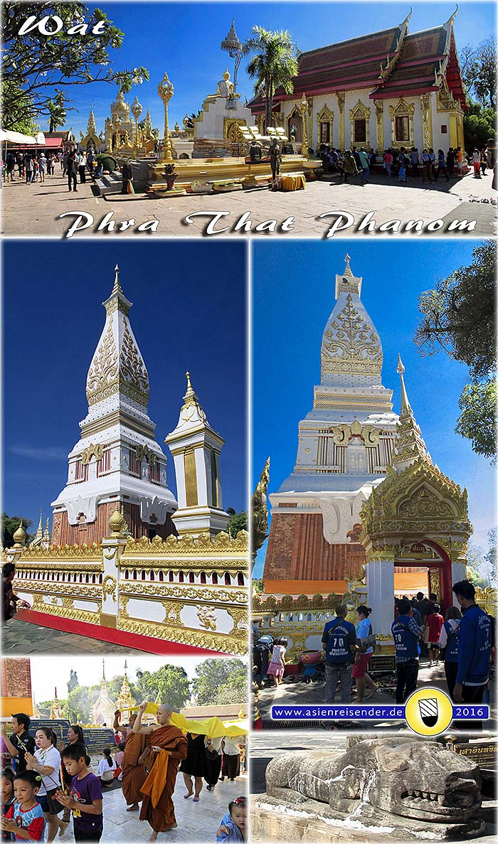 'Wat That Phanom' by Asienreisender