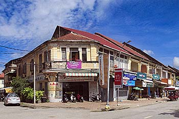 'Colonial Buildings in Battambang' by Asienreisender