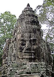 'The Smile of Angkor at Victory Gate' by Asieneisender