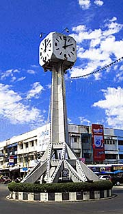 'Buriram's Clock Tower' by Asienreisender