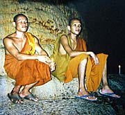 'Thai Monks in a Cave' by Asienreisender