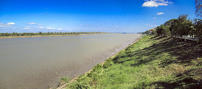 'The Mekong River at Khemarat' by Asienreisender