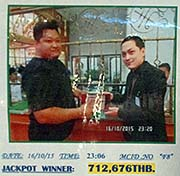 'The Jackpot Winner in a Cambodian Casino' by Asienreisender