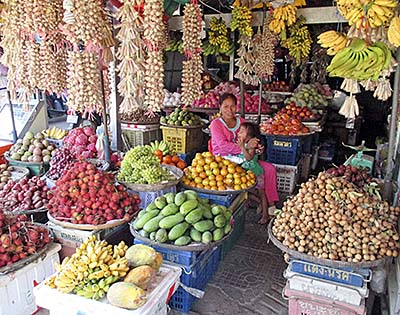 'A Fruit Shop on Pursat's Market' by Asienreisender