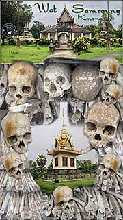 'The Killing Fields at Wat Samroung Knong in Battambang Province' by Asienreisender