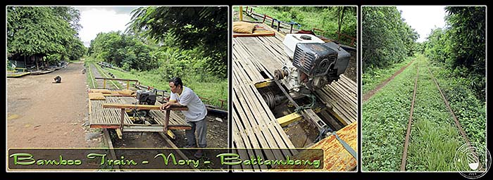 'Nory, The Bamboo Train Battambang' by Asienreisender