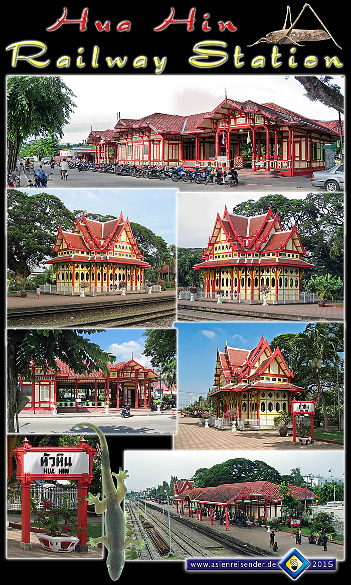 'The Railway Station of Hua Hin' by Asienreisender