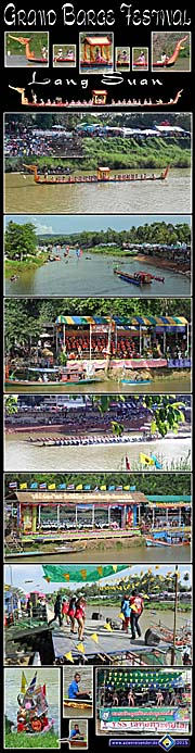 Thumbnail 'Photocomposition Grand Barges Festival in Lang Suan' by Asienreisender