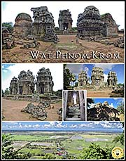 Thumbnail Photocomposition 'Wat Phnom Krom' by Asienreisender