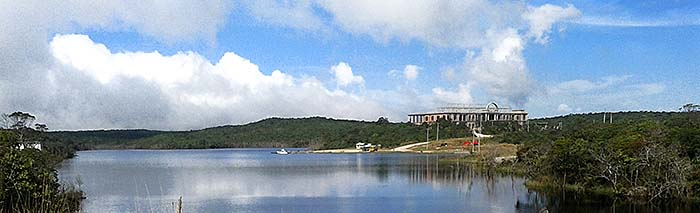 'New Casino Building at Bokor Lake' by Asienreisender