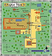 Thumbnail 'Map of Angkor Thom' by Asienreisender