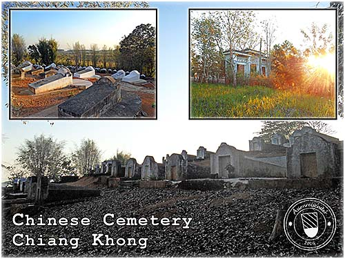 'Chinese Cemetery | Chiang Khong' by Asienreisender
