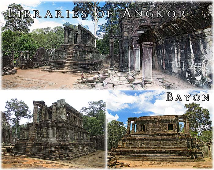 'The Libraries of Angkor | Bayon Libraries' by Asienreisender