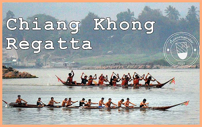 'A Regatta on the Mekong River between Chiang Khong and Houayxay' by Asienreisender