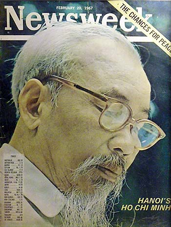 'Ho Chi Minh | Newsweek February 1967 Issue' by Asienreisender