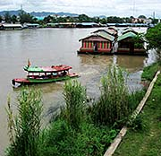 'Tourist Boats on the River Kwai' by Asienreisender