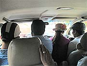 'Inside a Cambodian Taxi' by Asienreisender