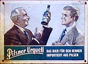 'Pilsener Urquell Advertisement in Pattaya' by Asienreisender