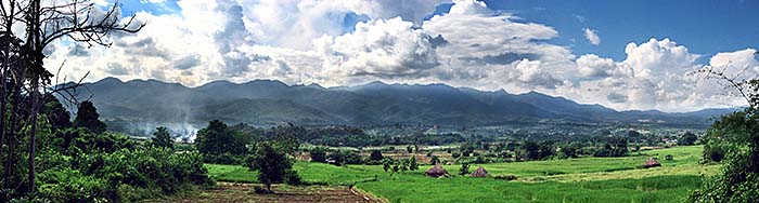 'The Mountains of Pai' by Asienreisender