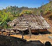 'Village Shack in the Maountains | Mae Hong Son Province' by Asienreisender